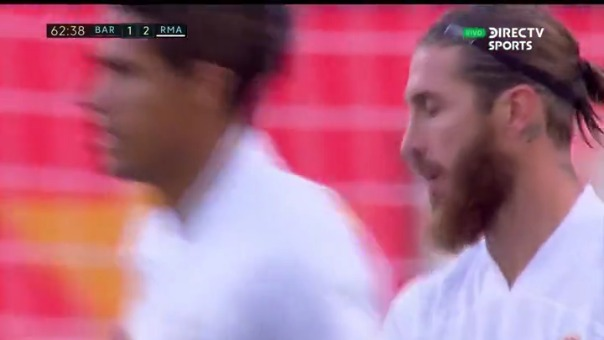 Barcelona 1-2 Real Madrid: Sergio Ramos anotó de PENAL