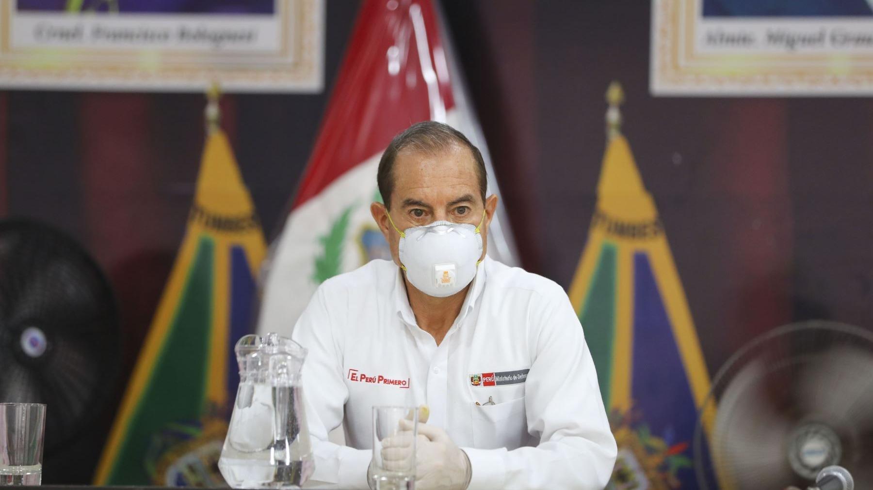 Walter Martos, presidente del Consejo de Ministros.