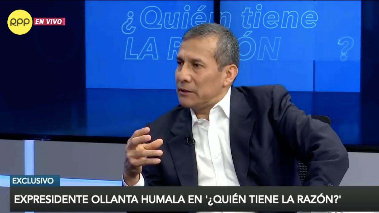 Ollanta Humala en Quién tiene la razón