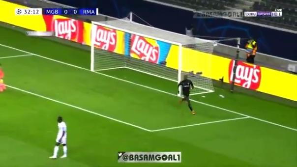 Gol de Marcus Thuram ante Real Madrid