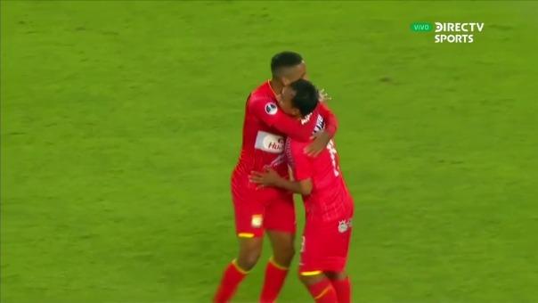 ASí fue el gol del empate de Sport Huancayo ante Liverpool