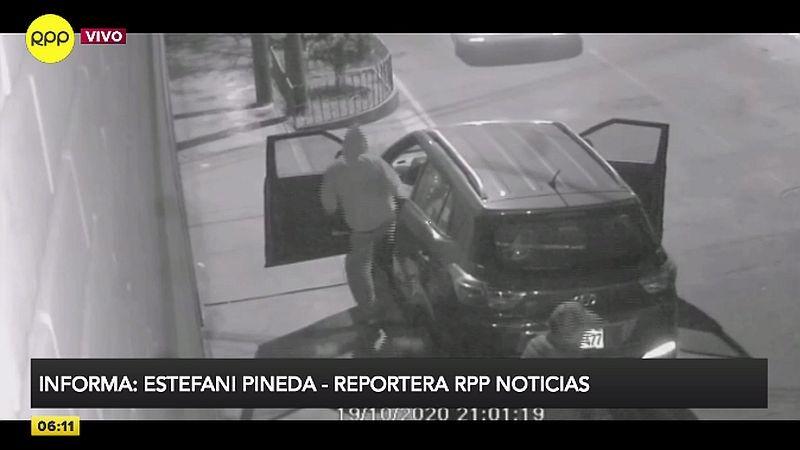 El crimen fue captado por las cámaras de seguridad de la zona.