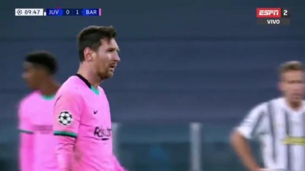 Lionel Messi marcó el segundo gol del Barcelona ante Juventus