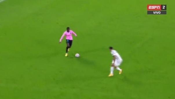 Gol de Ousmane Dembelé ante Juventus