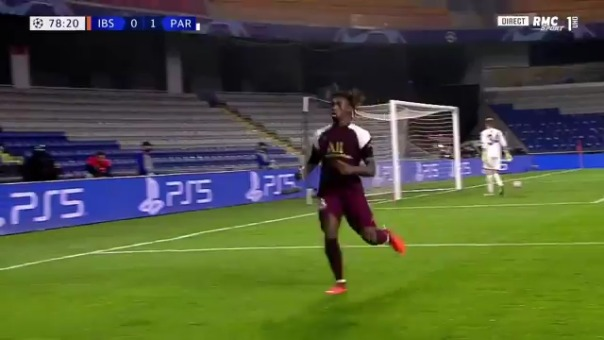 Segundo gol de Moise Kean ante Istambul