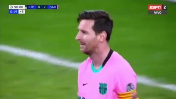 Gol de Lionel Messi ante Juventus