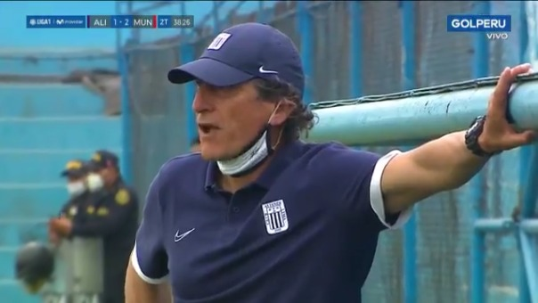 Gol de Yhirbis Córdova ante Alianza Lima