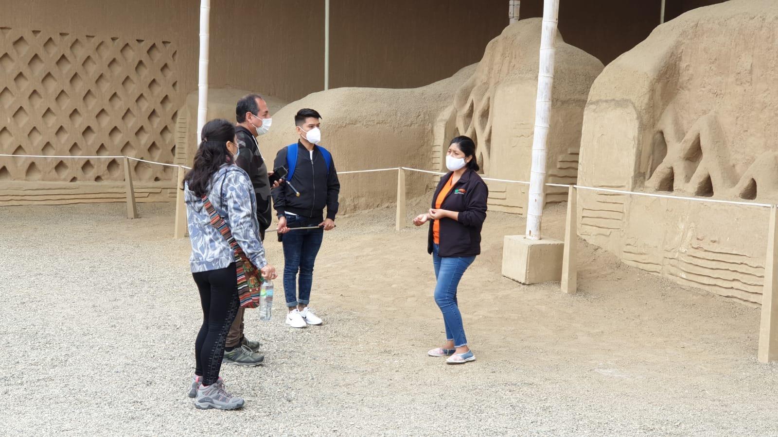 Las visitas se realizarán en grupos y cumpliendo las medidas de bioseguridad.