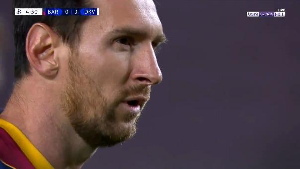 Barcelona 1-0 Dinamo Kiev: Lionel Messi marcó de penal