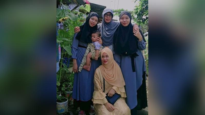 Un video en TikTok permitió unir a estas hermanas indonesias.