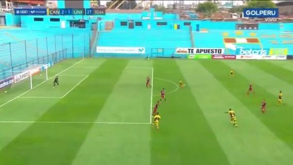 Gol de Jarlin Quintero ante Universitario