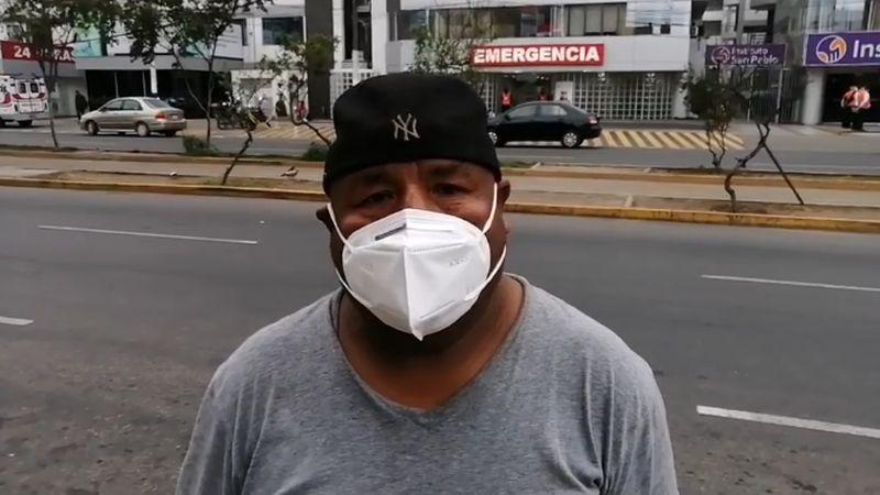 Roberto Mendoza denunció que el chofer causante del accidente fue liberado.
