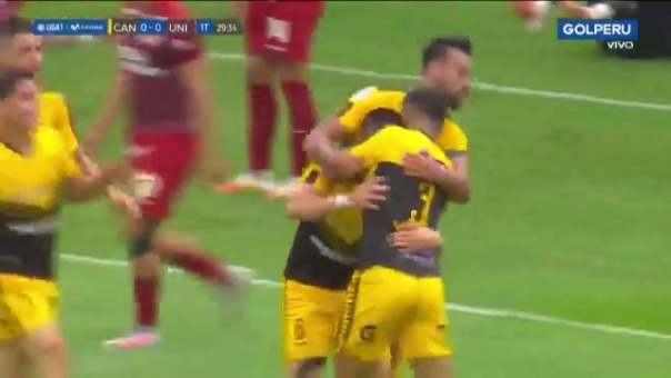 Gol de Aron Sánchez ante Universitario