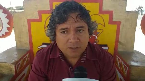 El alcalde Arturo Fernández señaló que el pueblo de Moche sabrá evaluar su trabajo.