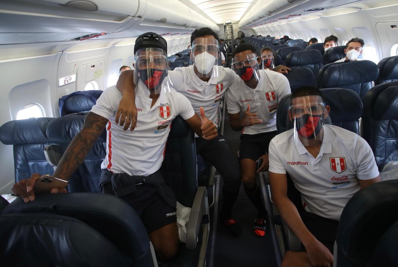 Wilder Cartagena, Renato Tapia, Marcos López y Luis Abram.