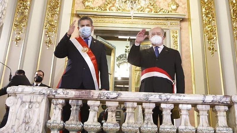 Así fue la ceremonia de juramentación de Ántero Flores-Aráoz.