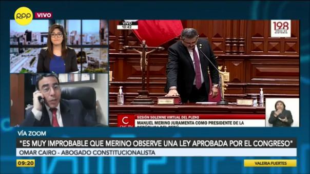 Cairo Roldán también se refirió a la demanda competencial que continúa en curso en el Tribunal Constitucional respecto de la aplicación de la