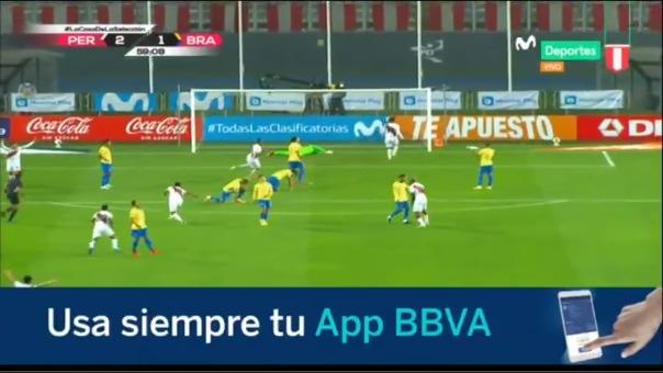 Gol de Renato Tapia