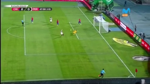 Ruidíaz se falló un gol cantado.