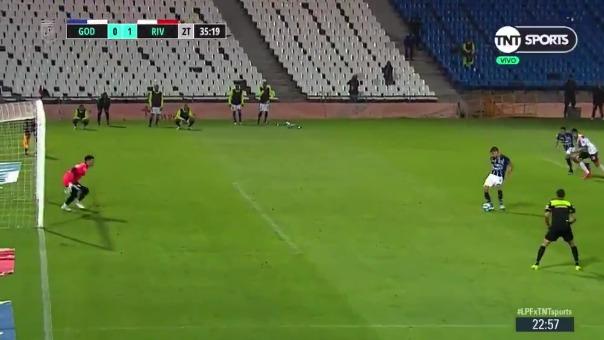 Así fue el gol atajado por Enrique Bologna
