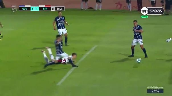 Godoy Cruz 0-1 River Plate: así fue el gol de palomita de Federico Girotti