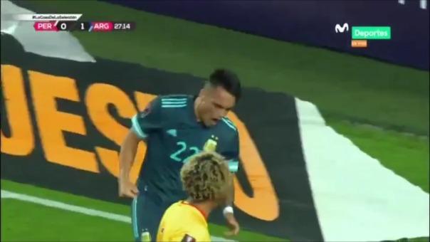 Argentina 2-0 Perú: así fueron los dos goles de la albiceleste en el Estadio Nacional