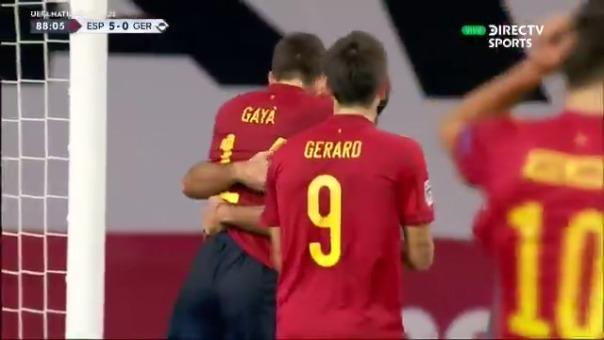 Gol de Mikel Oyarzábal ante Alemania
