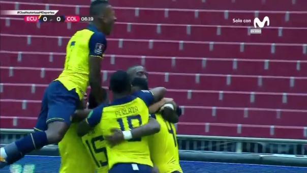 Ecuador 2-0 Colombia: Arboleda y Mena anotan en la Casa Blanca