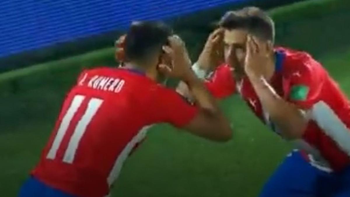 Ángel Romero y su gol en el Paraguay vs. Bolivia por Eliminatorias.