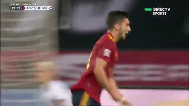 Gol de Ferrán Torres ante Alemania