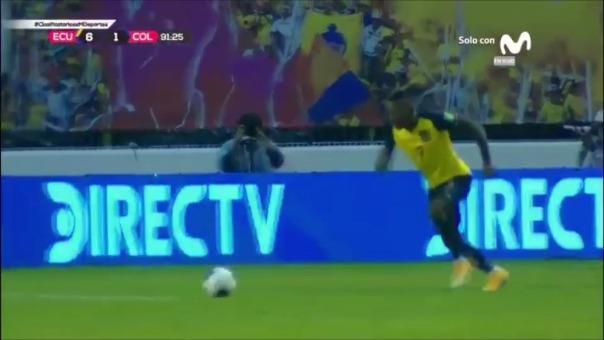 Ecuador 6-1 Colombia: así fueron el quinto y sexto gol de La Tri