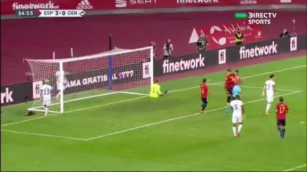 Segundo gol de Ferrán Torres ante Alemania