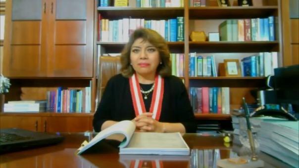 Pronunciamiento de la fiscal de la Nación, Zoraida Avalos, tras la muerte de dos jóvenes y desapariciones reportadas en el Marcha Nacional
