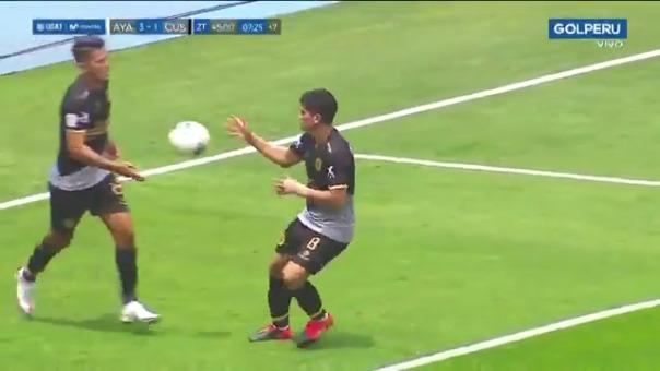 Gol de José Rivera ante Ayacucho FC