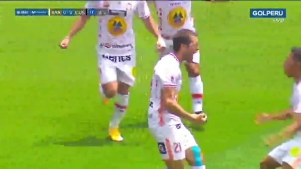 Gol de Mauricio Montes ante Cusco FC