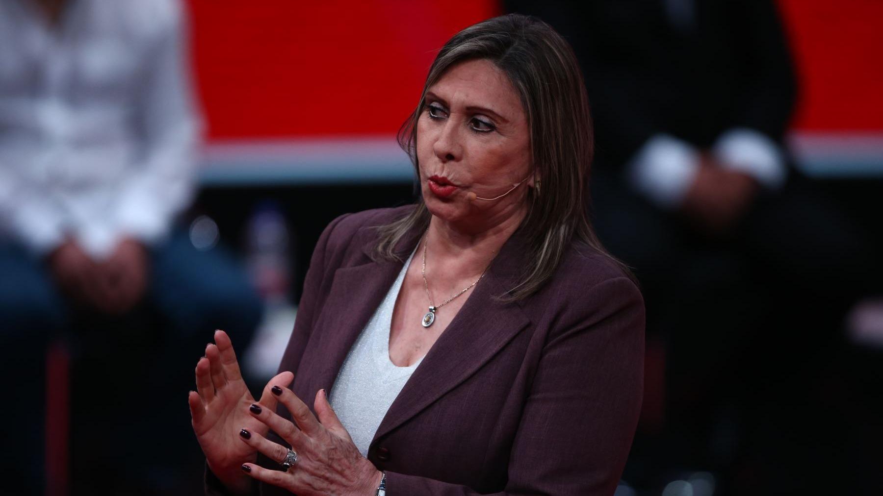 Zenaida Solís, congresista de la bancada del Partido Morado.