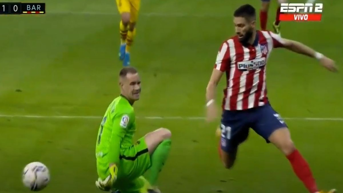Barcelona no pudo sacar puntos de su visita al Atlético de Madrid de Diego Simeone.