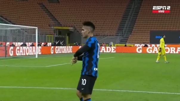 Lukaku y Lautaro anotan el tercero y cuarto gol