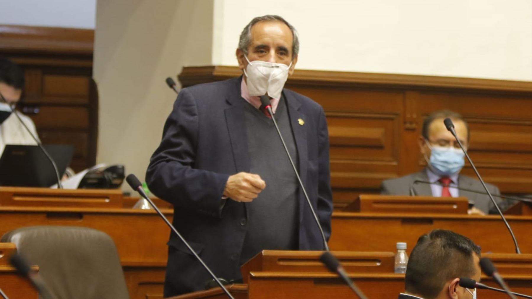 Ricardo Burga, congresista de Acción Popular.