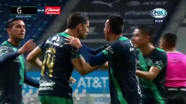 Monterrey 2-2 Puebla: así fue el gol de Santiago Ormeño