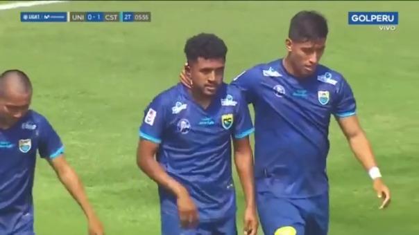 Gol de Álvaro Medrano ante Universitario
