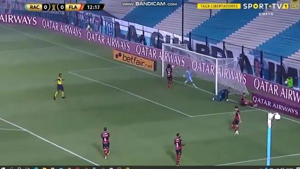 Racing 1-0 Flamengo: así fue el gol de Sport TV