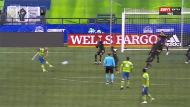 Así fue el gol de Raúl Ruidíaz para el 2-0 del Seattle vs. Los Angeles FC