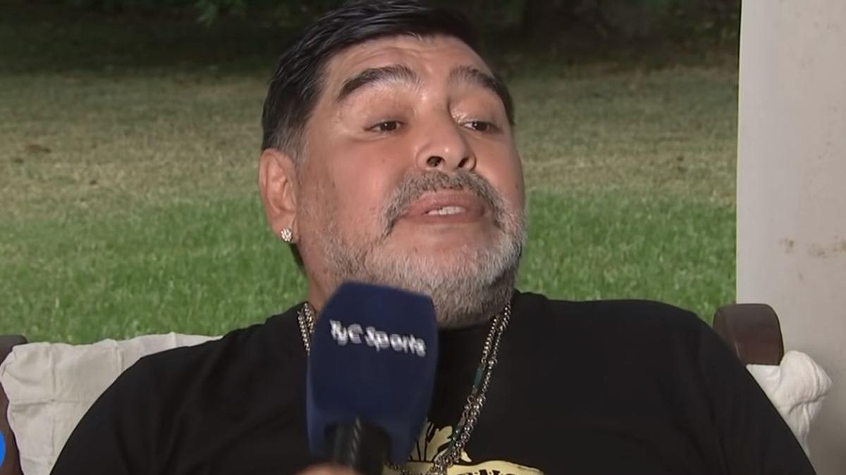 Diego Maradona y sus palabras dirigidas hacia Ricardo Gareca.