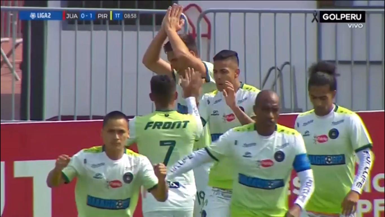 Gol de Pirata FC para el 1-0.