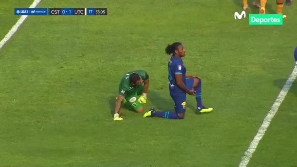 Gol de Emiliano Trovento para el 0-1 de UTC ante Stein