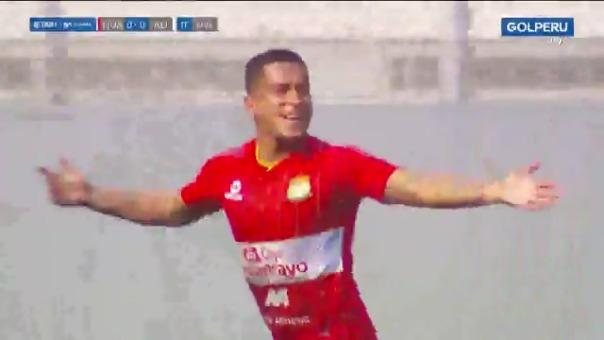 Marcio Valverde anotó el 1-0 de Sport Huancayo ante Alianza Lima