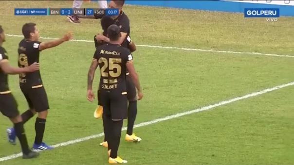 Alejandro Hohberg marcó el segundo gol tras pase de Millán