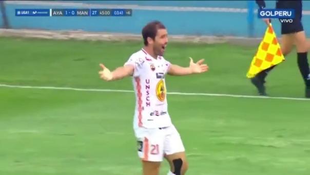 Mauricio Montes anotó el 1-0 en el minuto 94 ante Mannucci.