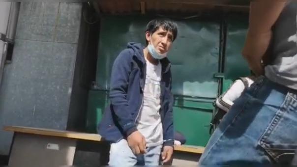 Delincuente intentó ser liberado llorando ante policías.